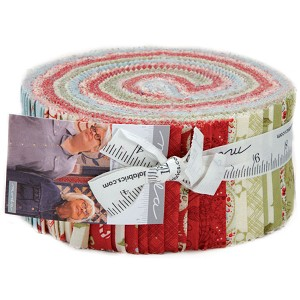 Moda Snowfall Prints Jelly Roll by Minick & Simpson