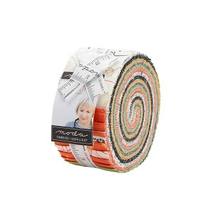 Moda Quotation Jelly Roll by Zen Chic