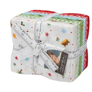 Moda Good Tidings Fat Quarter Bundle by Brenda Riddle Designs
