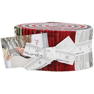 Moda Hearthside Holiday Jelly Roll by Deb Strain