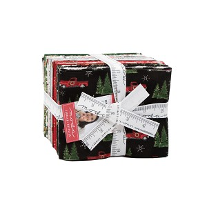 Moda Homegrown Holidays Fat Quarter Bundle by Deb Strain