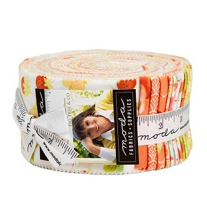 Moda Chantilly Jelly Roll by Fig Tree & Co.