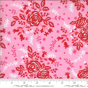 Moda Fabric Be Mine Sweet Nothings Fabric by Stacy Iest Hsu