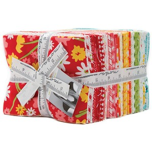 Moda Mama's Cottage Fat Quarter Bundle by April Rosenthal of Prairie Grass Patterns