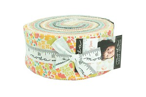 Moda Strawberry Jam Jelly Roll by Corey Yoder of Little Miss Shabby