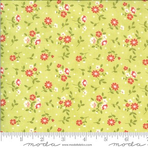 Moda Canning Day Apron Strings Seedling Fabric by Corey Yoder of Little Miss Shabby
