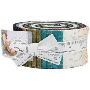 Moda Grunge Seeing Stars Metallic Jelly Roll by Basic Grey