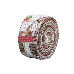 Moda Naughty Or Nice Jelly Roll by Basic Grey