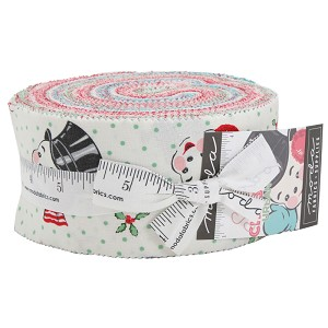 Moda Sweet Christmas Jelly Roll by Urban Chiks