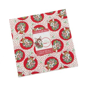 Moda Deer Christmas Layer Cake by Urban Chiks