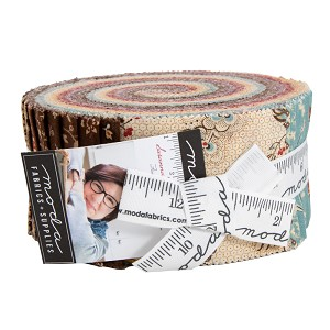Moda Susannas Scraps Jelly Roll by Betsy Chutchian
