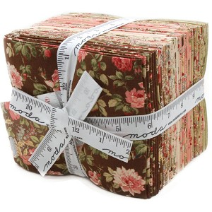 Moda Roses & Chocolate II Fat Quarter Bundle