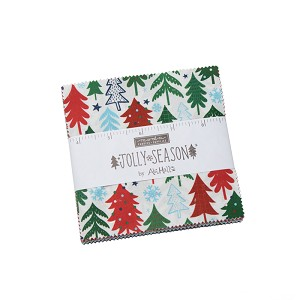Moda Jolly Season Charm Pack by Abi Hall