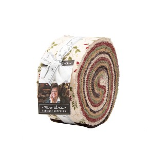 Moda Glad Tidings Jelly Roll by Jo Morton
