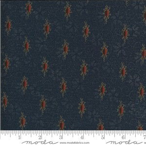 Moda Hopewell Picotage Indigo Fabric by Jo Morton