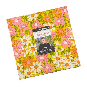 Moda A Blooming Bunch Layer Cake by Maureen McCormick