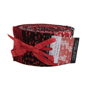 Moda Fire & Ice II Batiks Jelly Roll