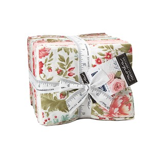 Moda Rue 1800 Fat Quarter Bundle by 3 Sisters