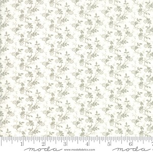 Moda Rue 1800 Cecille Porcelain Fabric by 3 Sisters