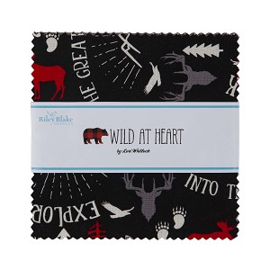 Riley Blake Designs Wild at Heart Charm Pack by Lori Whitlock