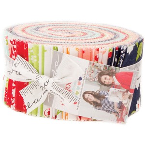 Moda The Good Life Jelly Roll by Bonnie & Camille