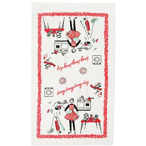 Moda Home Busy Bee Reproduction Cotton-Linen Tea Towel