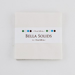 Moda Bella Solids Feather White Charm Pack