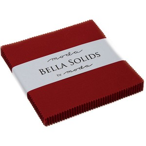 Moda Bella Solids Country Red Charm Pack