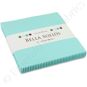 Moda Bella Solids Robin's Egg Blue Charm Pack