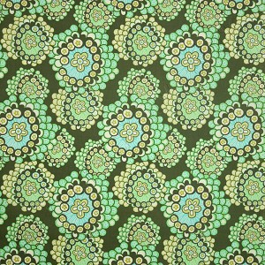 Amy Butler Midwest Modern 2 Dandelion Field Forest Green Fabric