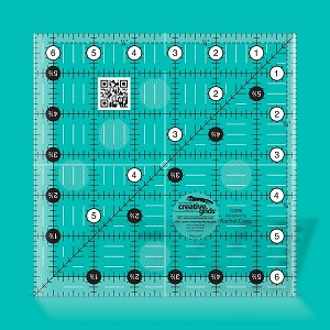 Creative Grids Quilting Ruler 6-1/2 Inch Square CGR6