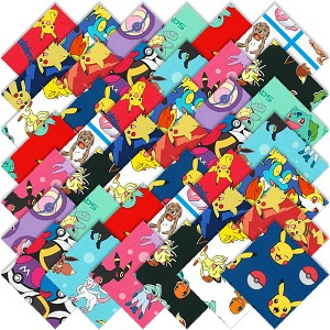 Robert Kaufman Pokemon Fabric Charm Pack