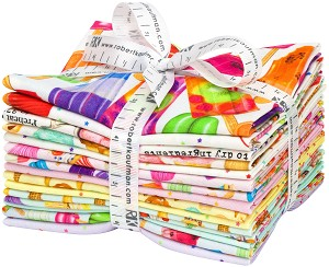 Robert Kaufman Sweet Tooth Fat Quarter Bundle by Mary Lake-Thompson