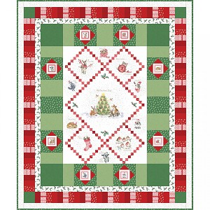 Maywood Studio Warm Wishes Quilt Kit by Hannah Dale