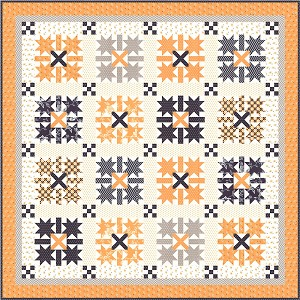 Moda All Hallow's Eve Quilt Kit by Fig Tree & Co.