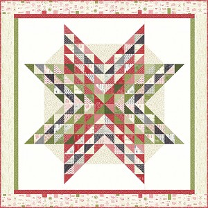 Moda The Christmas Card 'Tis the Season Quilt Kit by Sweetwater