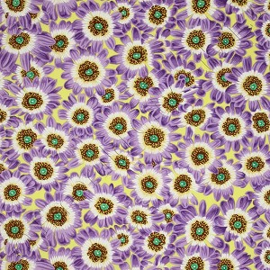 Free Spirit Botanical Cineraria Lavender Fabric