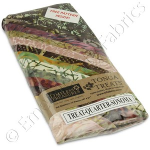 Timeless Treasures Tonga Batiks Sonoma Fat Quarter Bundle